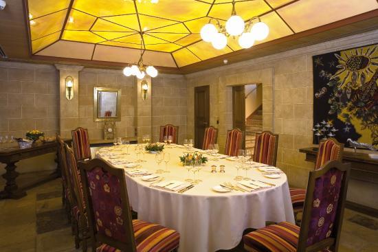 Hotel de la Cigogne : Salon privé