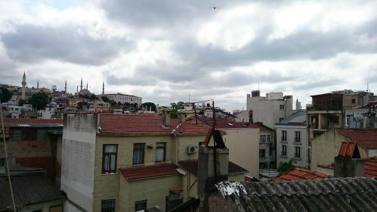 Hotel Kupeli Palace: Крыши старого города
