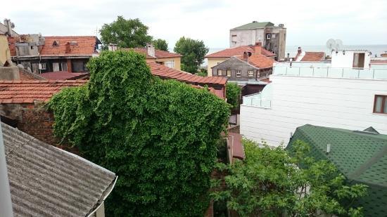 Hotel Kupeli Palace: Вид из окна номера