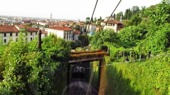 Funicolare Bergamo Alta: Funicolare