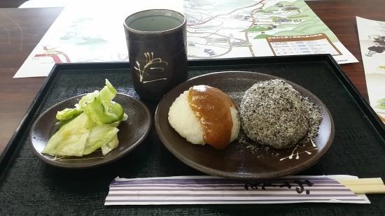 Sanada History Museum: 絶品おはぎ