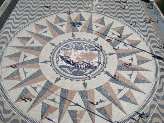 Padrao dos Descobrimentos: La rosace vue du sommet
