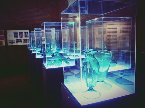 MUVE, Museo del Vetro di Empoli: Alcune delle opere all'interno del museo!