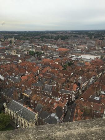 York Minster Tower Climb