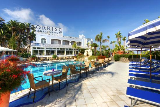 Sorriso Thermae Resort & Spa: Blue Pool thermal water 36/38° open 24 h
