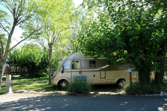 Emplacement camping car  Picture of Camping Le Petit Bois  ~ Camping Le Petit Bois
