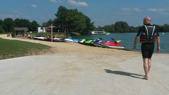 Espace Quilly: Plage de Quilly - Jet Ski