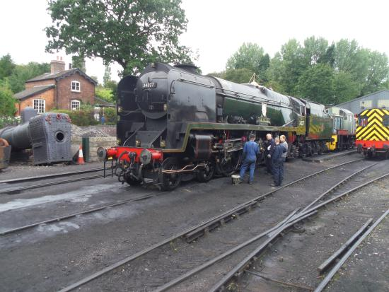 Review 'Severn Valley Railway': Cream Tea on the Severn Valley Railway