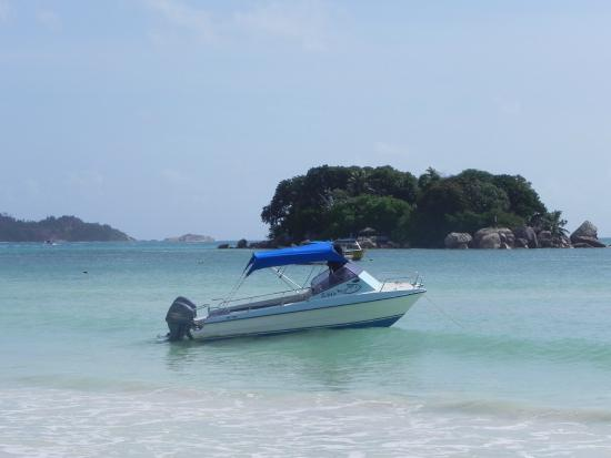 Pulau Praslin, Seychelles: bateau