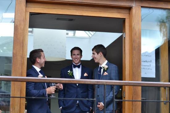Cock O Barton: The groom