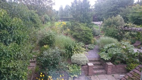 Orchard Way Bed & Breakfast: back garden