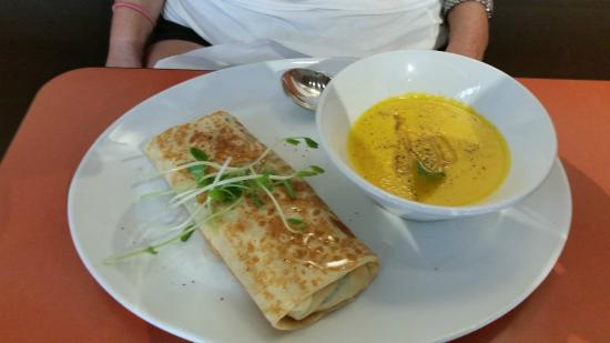 Mill Street Crepe Company: Special of the Day - soup was amazing