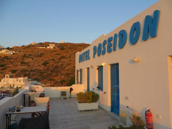 Hotel Poseidon : Balcony
