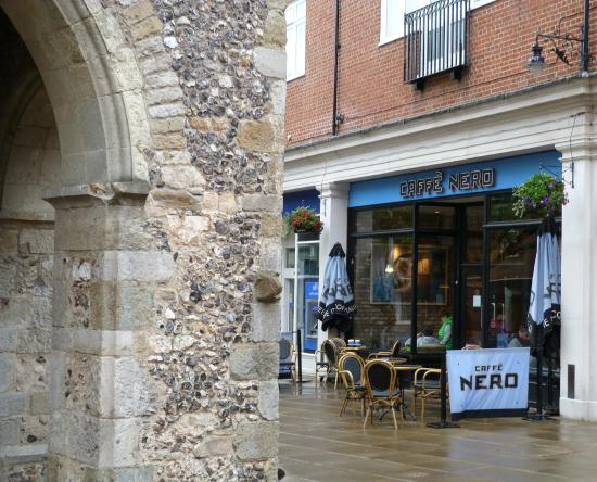 Caffe Nero - St George's Street: Caffe Nero at the Clocktower Square, St George's St, Canterbury