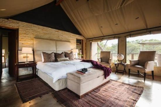 Thandeka Lodge and Spa: Luxury tented accomodation