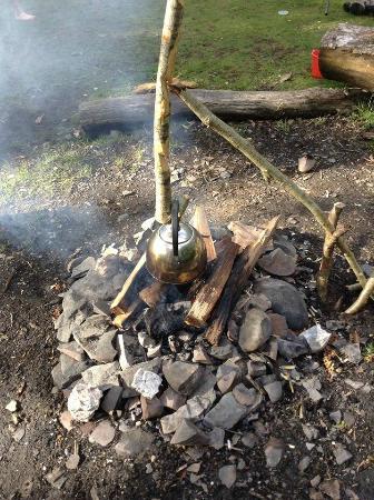 Eco Retreats: Fire Pit