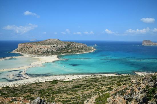 Balos Lagoon: The View