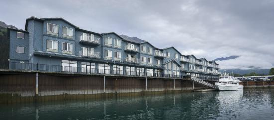 Harbor 360 Hotel: Spectacular views of Resurrection Bay