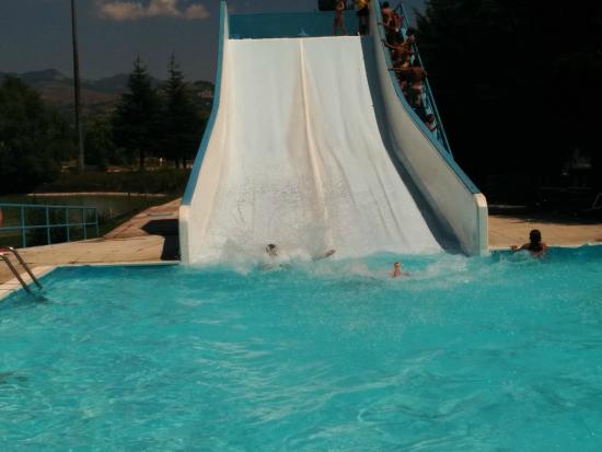 Hotel Don Luis: Scivolo e piscina