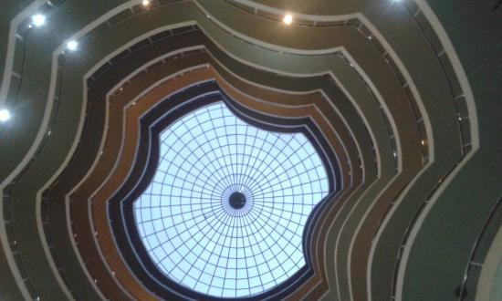 Imperial Royale Hotel: Вид снизу вверх