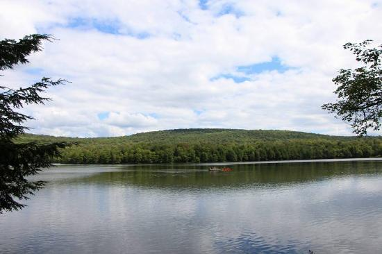 Mongaup Pond Campground: Rent a kayak, canoe or rowboat for $20 a day