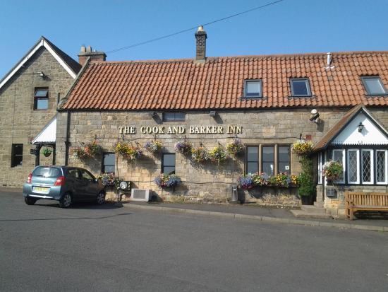 Newton on the Moor, UK: picturesque country pub hidden off the A1