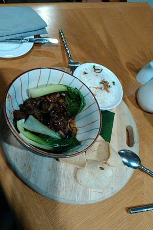 Miri Marriott Resort & Spa: Grilled beef