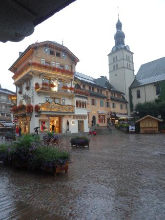 Centre ville de meg ve photo de hotel l 39 arboisie meg ve for Hotels 3 etoiles megeve