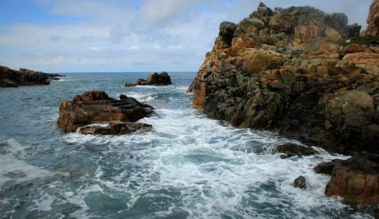 Sentier Des Douaniers: De zee, de zee, de zee klotst voort in eindeloze deining.