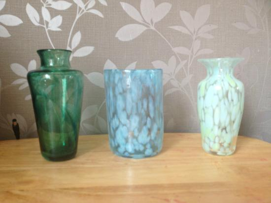 David Jacobson Glass : The lovely things David helped us make!