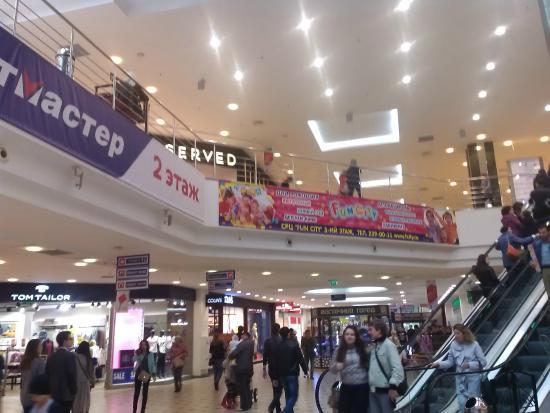 Tandem Mall: Внутри