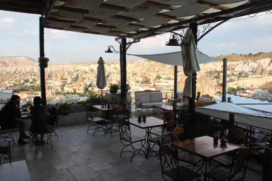 Kelebek Special Cave Hotel: View from Restaurant