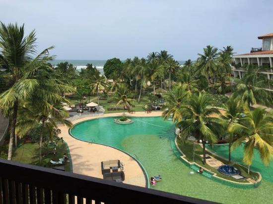 Eden Resort & Spa: Вид с балкона