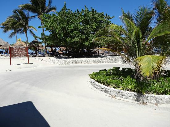 Grand Bahia Principe Coba: The Beach Stop for the Coba section of the beach strip