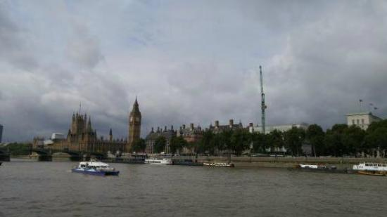 Big Ben - view from the River Thames