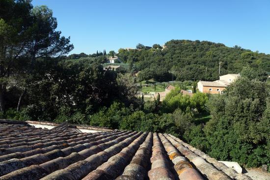 Lagarde-Paréol, France : De la terrasse de ma chambre