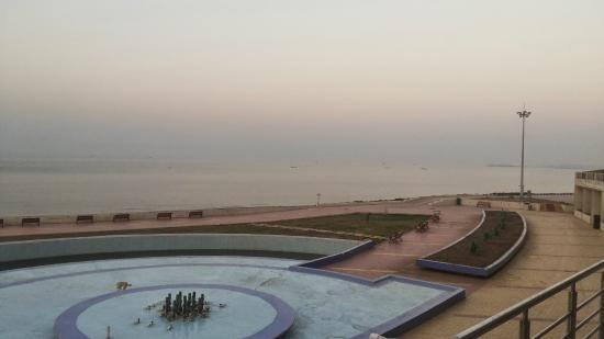 Sagar Darshan - Somnath Trust: View from Room Balcony-6