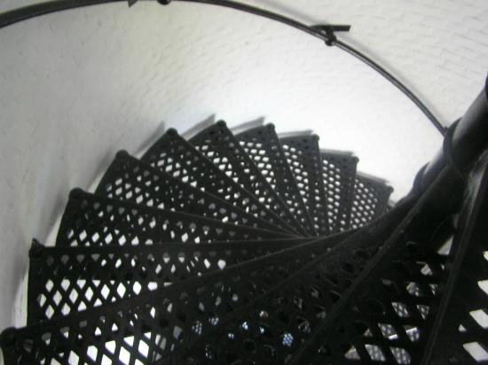 Staircase leading to the top of the Jupiter Inlet Lighthouse