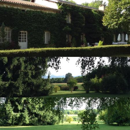 Domaine de Jean-Pierre : The house and gardens