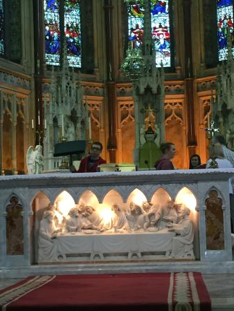 St. Patrick's Cathedral (Church of Ireland): The altar