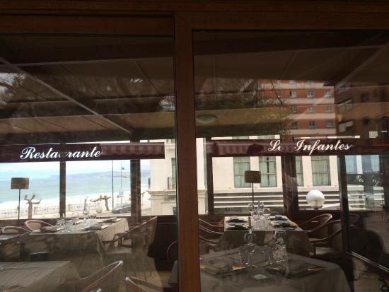 Restaurante Los Infantes Gourmet : Fachada de la terraza