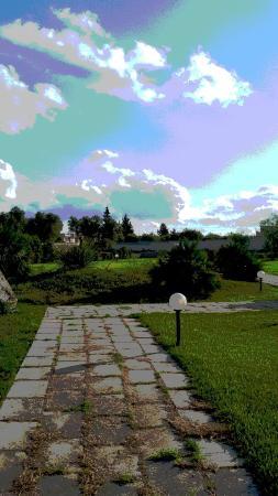 Agriturismo Antares: vista giardino