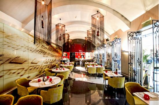 10 best restaurants near aria hotel budapest by library. Black Bedroom Furniture Sets. Home Design Ideas