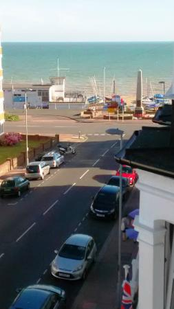 Bexhill-on-Sea, UK: Ocean view from room