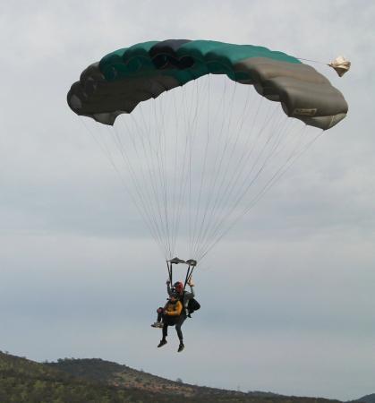 Paracaidismo Chile: Tandem