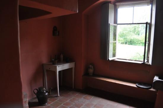 Goethes Gartenhaus: interno
