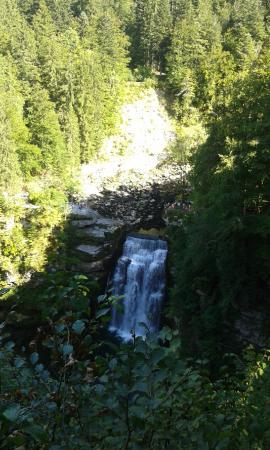 Villers-le-Lac, Frankrig: saut du Doubs