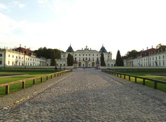 Bialystok, Polonia: il palazzo