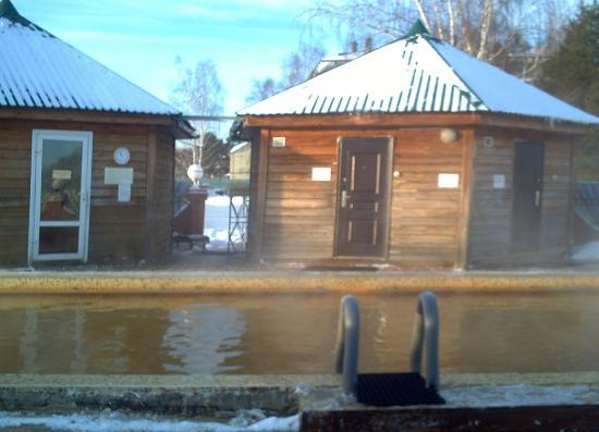 Yalutorovsk, Russia: вид на тёплые раздевалки.