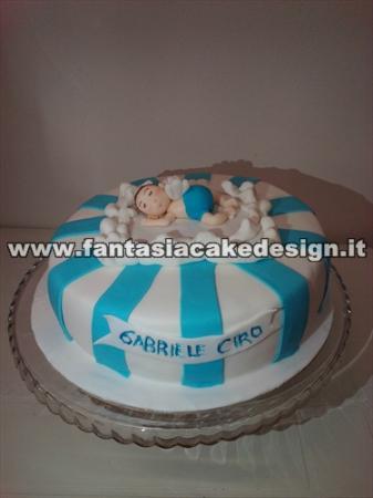 Accessori Cake Design Vicenza : torta battesimo con angioletto - Picture of Fantasia Cake ...
